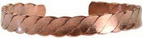 AzureGreen Copper Cuff Bracelet