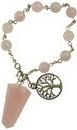 AzureGreen JBPRQZ Rose Quartz pendulum bracelet