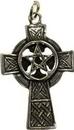 AzureGreen JCCP4 Celtic Cross Pentagram