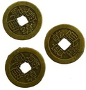 AzureGreen JICH Bronze I Ching Coin