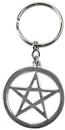AzureGreen JKP Pentagram Key Ring