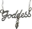 AzureGreen JNGOD Goddess necklace