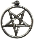 AzureGreen JP579 Pentagram Inverted pewter