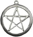 AzureGreen JPL2 Pewter Pentagram