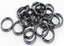 AzureGreen JRH20A 3mm Hematite Rings (20/bag)