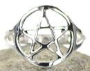 AzureGreen JRSB4208 Pentagram Ring size 8