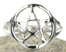 AzureGreen JRSB9 Pentagram Ring size 9