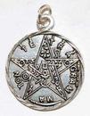 AzureGreen JT222 Tetragrammaton pewter