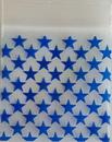 AzureGreen LP22STRC Blue Stars ziplock bags 2
