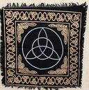 AzureGreen RAC24 Triquetra altar or tarot cloth 24