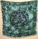 AzureGreen RAC87 Greenman altar/tarot cloth 36