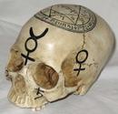 AzureGreen RS839 Skull: Pentagram (Mystic)