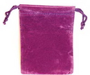 AzureGreen RV34PU Bag Velveteen: 3 x 4 Purple