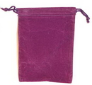 AzureGreen RV46PU Bag Velveteen 4 x 5 1/2 Purple