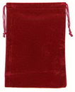 AzureGreen RV57BG Bag Velveteen: 5 x 7 Burgundy