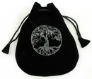 AzureGreen RVBTOL Tree of Life Velveteen Bag 5