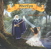 AzureGreen CD: Merlyn:  Celtic Harp Music by Jerry Marchand