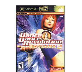 DDR Game Dance Dance Revolution DDR Ultramix 2 Dance Game for Xbox (Game Only)
