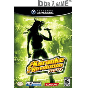 Hyperkin Karaoke Revolution Party Karaoke Game for GameCube (Game + Microphone)
