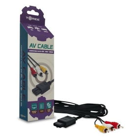 DDR Game GameCube / N64 Standard Audio Video Cable