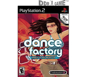 DDR Game Dance Factory Dance Game for PS2 (Game Only)