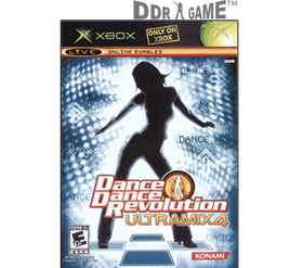 DDR Game Dance Dance Revolution DDR Ultramix 4 Dance Game for Xbox (Game Only)