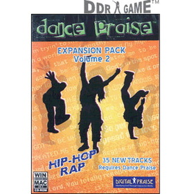 DDR Game Dance Praise Expansion Pack 2: Hip-Hop/Rap Dance Game for PC/Mac (Game Only)