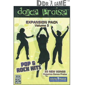 Hyperkin Dance Praise Expansion Pack 3: Pop & Rock Hits Dance Game for PC/Mac (Game Only)