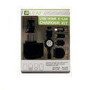LEAF USB Home and Car Charger Set