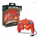 PC/ Mac CirKa Premium GameCube-Style USB Controller (Crimson Red)