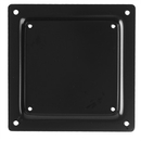 Ziotek VESA Monitor Mount Adapter Plate, 75 to100mm, Black ZT1110368