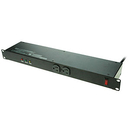 A-Neutronics 12 Outlet Surge Protected 1U Rack Mount Power Strip Power Bar MS-1215-S6