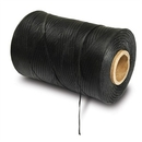 Generic 1130012 Waxed Lacing Cord, 500 Yard Spool, Black