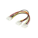 Ziotek Power Supply 4-Pin Molex Y-splitter 18AWG ZT1130270