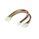 Ziotek Power Y Cable for 3.5in. Floppy Drive 18AWG ZT1130275
