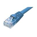Ziotek 14ft CAT5e Network Patch Cable w/Boot, Blue ZT1195180