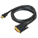 Generic 1211148 16ft. HDMI 1.2 Male to DVI-D Male Adapter Cable, Single Link