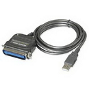 IOGEAR USB to Parallel Printer Cable GUC1284B