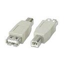 Ziotek USB Adapter Type A Female to Type B Male ZT1310915