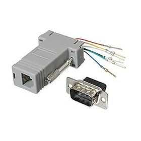 Ziotek Modular Adapter DB9 M to RJ11 / RJ12 ZT1312010
