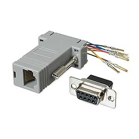 Ziotek Modular Adapter DB9 F to RJ45 ZT1312040