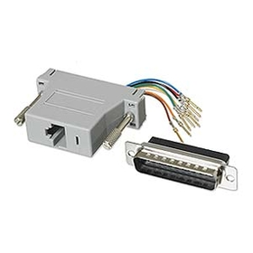 Ziotek Modular Adapter DB25 M to RJ45 ZT1312070