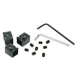 RJ Lockdown RJ45 Patch Cord Locks, Black, 12 Locks RJ45PLOCK-12
