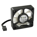 GELID Silent5 50mm Silent Case Fan, 3 Pin Molex, Black FN-SX05-40