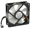 GELID Silent8 80mm Silent Case Fan, 3 Pin Molex, Black FN-SX08-16