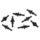 GELID Anti-Vibration Fan Mount Screws, 8 Pack RB-GR02-B
