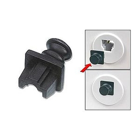 Generic 1800455 RJ45 Jack Snap-in Dust Cover Inside Jack