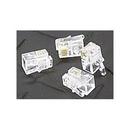 Generic 1800470 Handset 4P4C Modular Plugs, Clear, 100 Pack