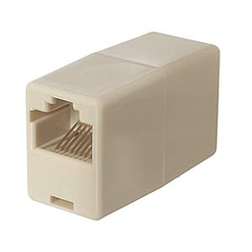 Ziotek RJ45 Coupler F/F Straight Connector ZT1800500