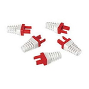 Platinum Tools Ez-RJ45 CAT6 Strain Reliefs 50 Pack Red 100030R